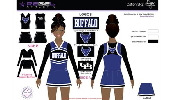 UB Cheerleader Uniform
