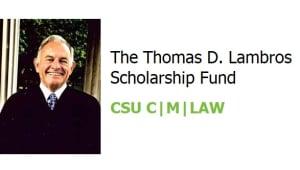 The Thomas D. Lambros Scholarship Fund
