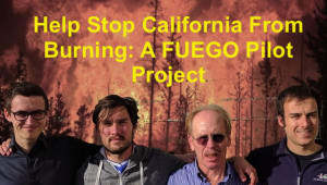 Help Stop California from Burning:  A FUEGO Pilot Project