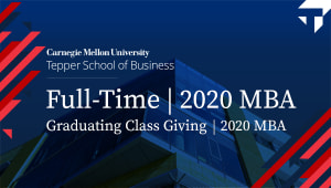 2020 MBA Graduating Class Giving