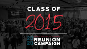 Class of 2015 Reunion Gift Campaign