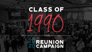 Class of 1990 Reunion Gift Campaign