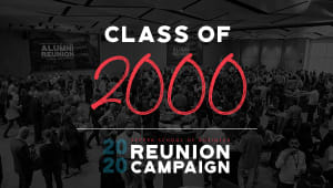 Class of 2000 Reunion Gift Campaign