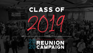 Class of 2019 Reunion Gift Campaign