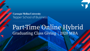 2020 MBA PTOH Graduating Class Giving Campaign