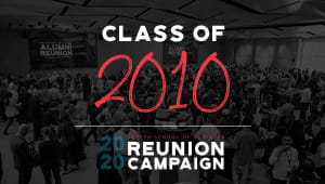 Class of 2010 Reunion Gift Campaign