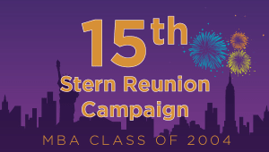 Stern MBA Class of 2004 Reunion Campaign