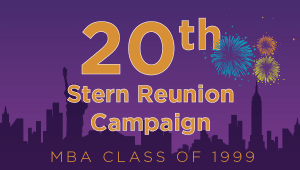 Stern MBA Class of 1999 Reunion Campaign