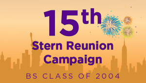 Stern BS Class of 2004 Reunion Campaign