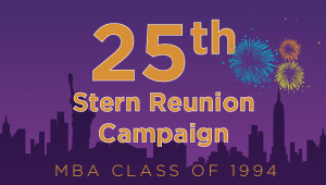 Stern MBA Class of 1994 Reunion Campaign