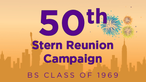 Stern BS Class of 1969 Reunion Campaign