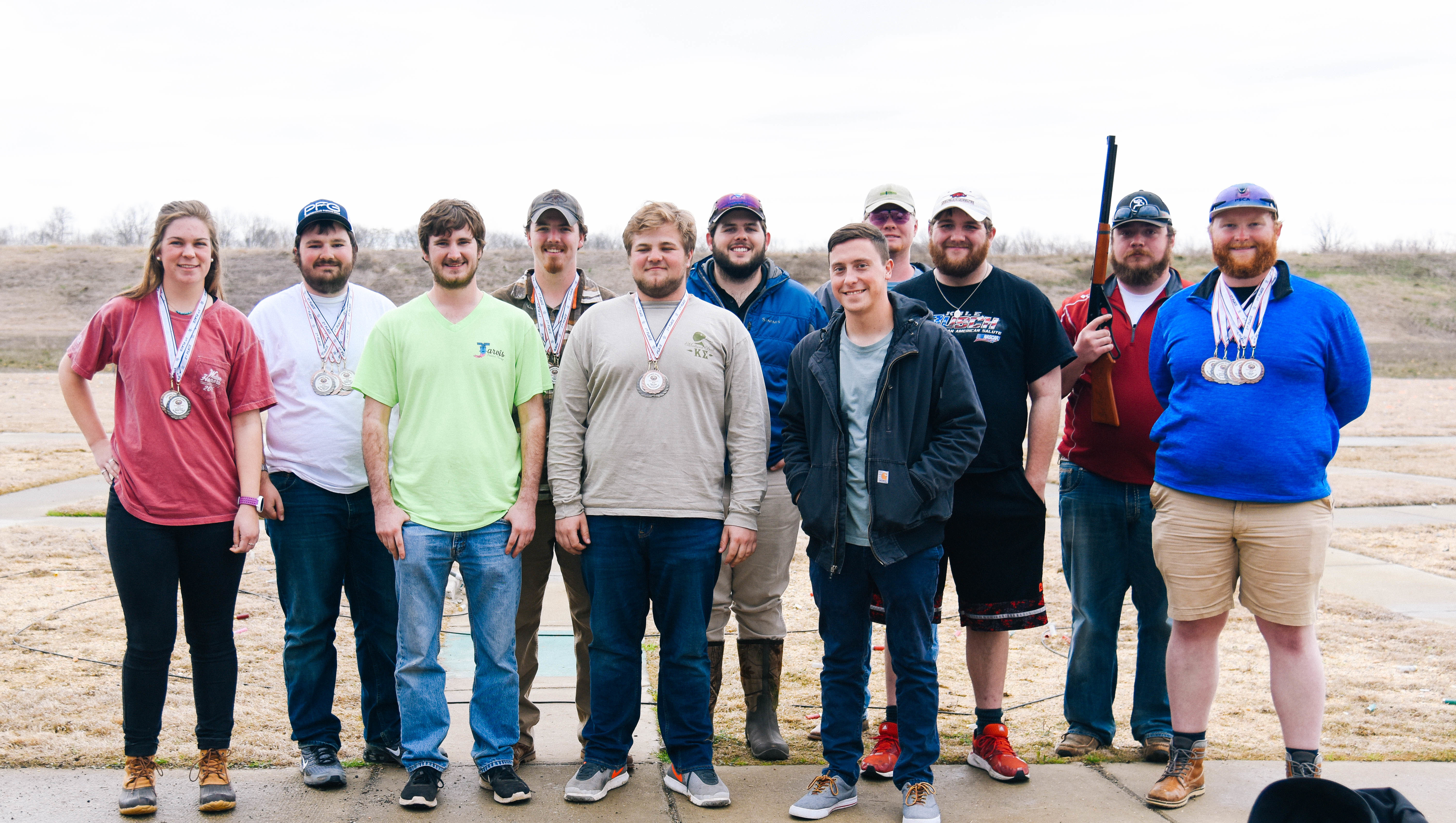 ACUI super shoot in Tillar, Arkansas.