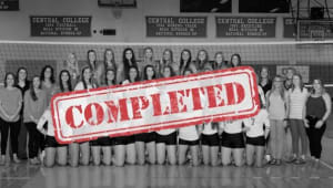 Central College Volleyball 2019