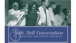 2020 Convocation and White Coat and Pinning Ceremony