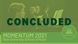 School of Music Momentum 2021 Campaign