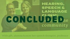 Hearing, Speech & Language Clinic: Serving the community