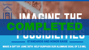 Imagine the Possibilities: Alumnae Giving Challenge