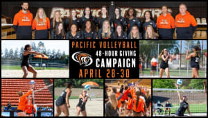 Pacific Volleyball 48-Hour Giving Campaign