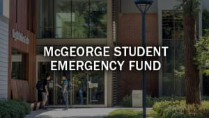 McGeorge Student Emergency Fund