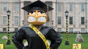 Support the Graduation Herky Statues