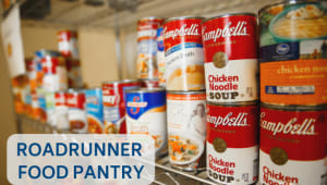 Roadrunner Food Pantry Mid-Semester Snack Pack