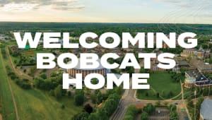 Welcoming Bobcats Home