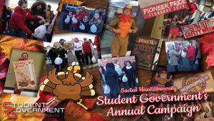 Help Student Government Support Families at Thanksgiving!