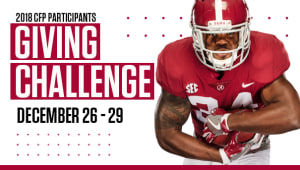 2018 College Football Playoff Participants Giving Challenge