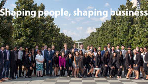Shaping people, shaping business