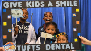 Give Kids a Smile at Tufts Dental