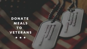 Donate a Meal to a Veteran