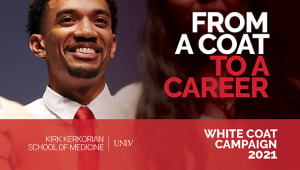 White Coat Campaign 2021 to Create a Class of 2025 Scholarship