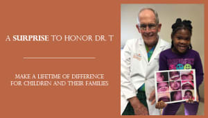 A Surprise To Honor Dr. T
