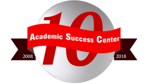 Academic Success Center 10 Year Anniversary