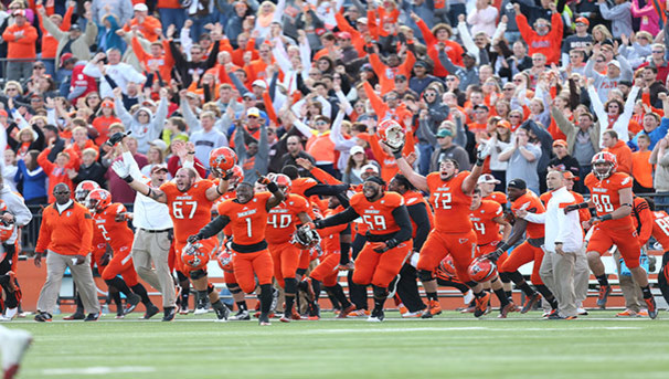 B1G win for BGSU: Support our student-athletes! Image