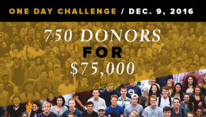 #feedthetiger | 750 alumni donors for $75,000 Challenge!