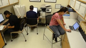 Improve Student and Patron Study Space in the VE Petrucci Library