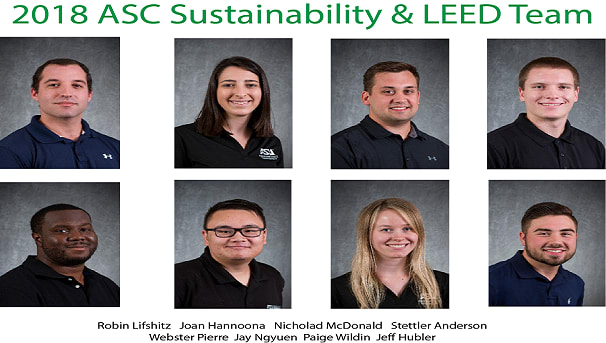 Arizona State University 2018 Asc Sustainability Leed