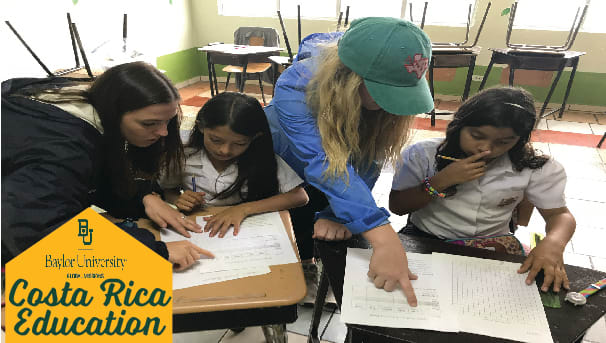 Costa Rica Education Mission Trip Image