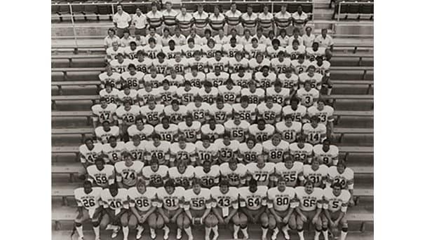 Class of 1981 Football Team
