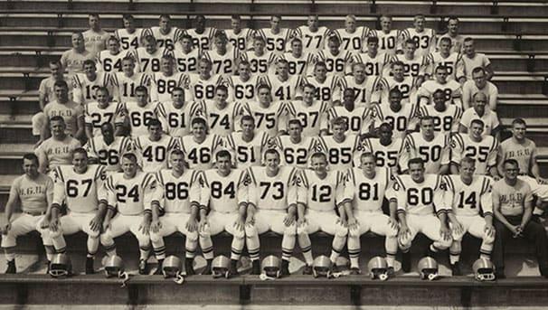 Class of 1959 football team photo