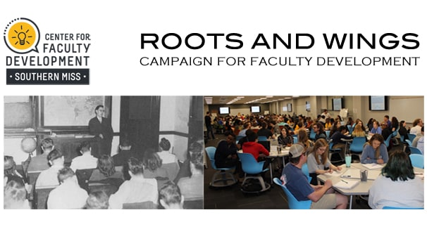 Roots and Wings: Campaign for Faculty Development Image