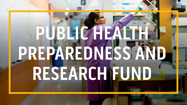 Support Urgent Public Health Research and Pandemic Response Image
