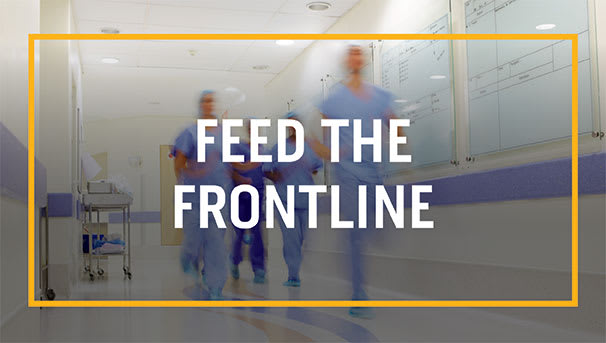 Help Feed Frontline Health Care Workers Image
