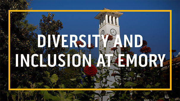 Support Diversity and Inclusion at Emory! Image