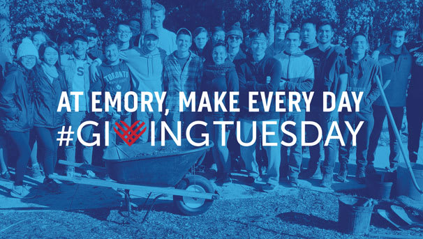 At Emory, make every day #GivingTuesday Image