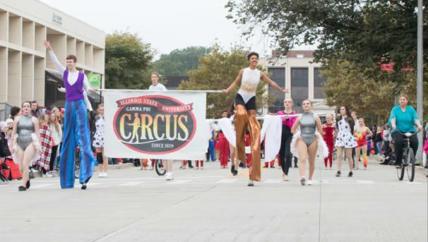 Gamma Phi Circus Macy's Parade Image