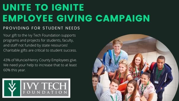 Muncie - Employee Giving Campaign Image