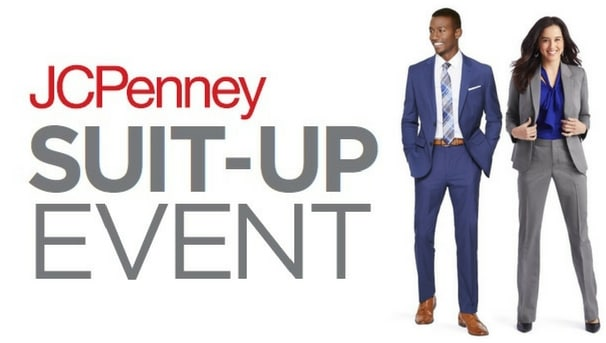 JCPenny Suit Up Event Image