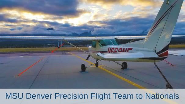 MSU Denver Precision Flight Team Goes To Nationals Image
